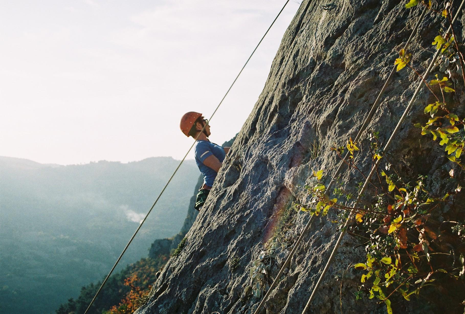 kaya tırmanışı geyve top rope tırmanış