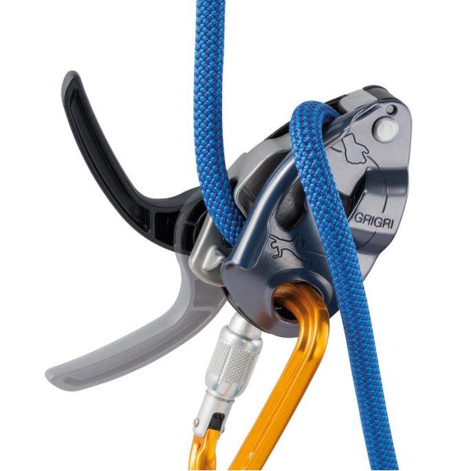 kaya tırmanışı emniyet aletleri petzl grigri