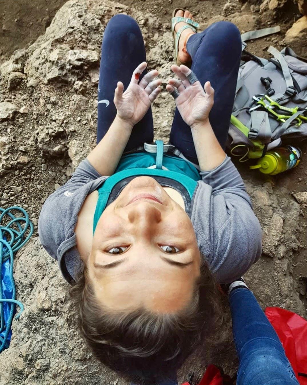 nursen yılmaz geyikbayırı kaya tırmanışı