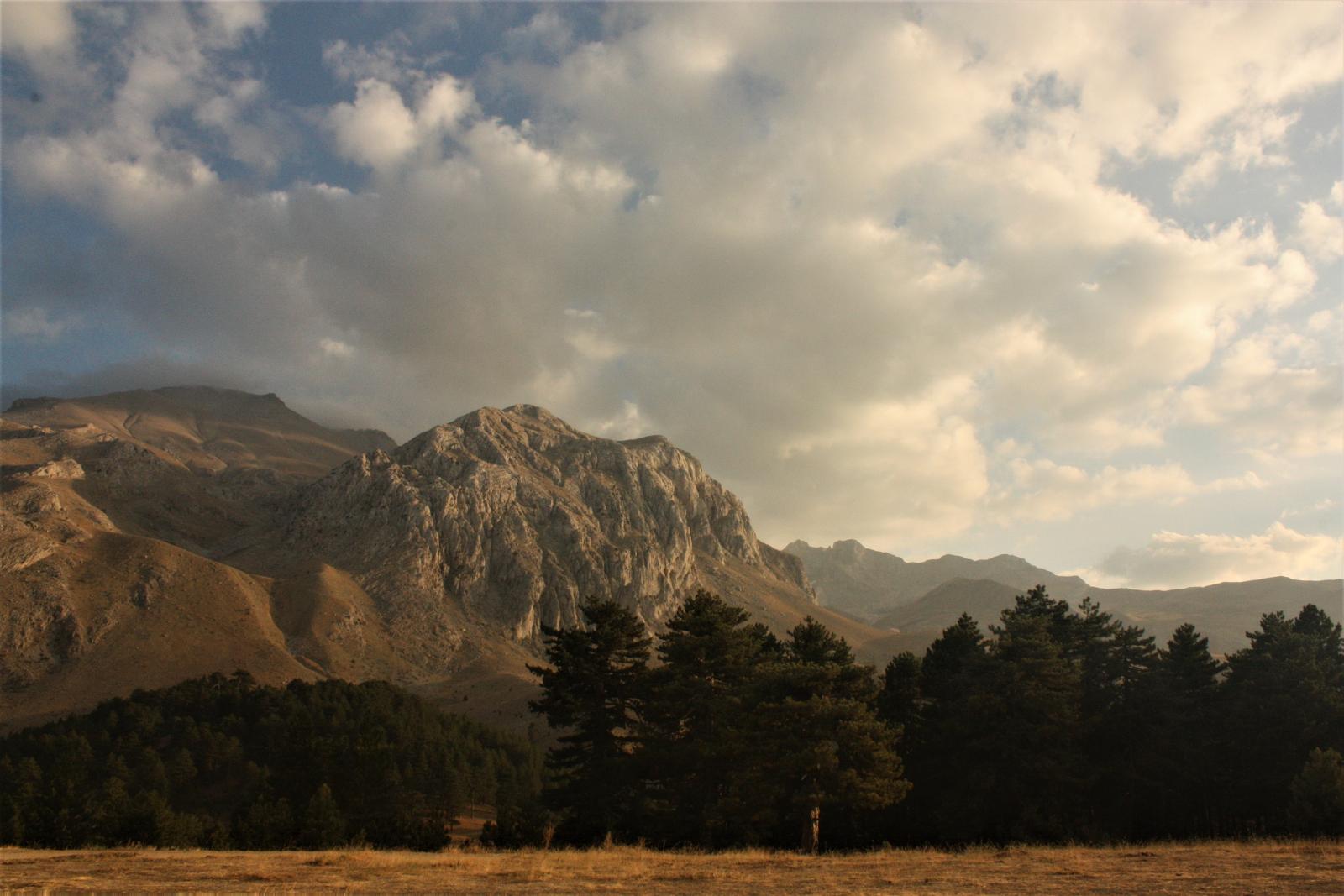 Dedegöl Dağı gün batımı