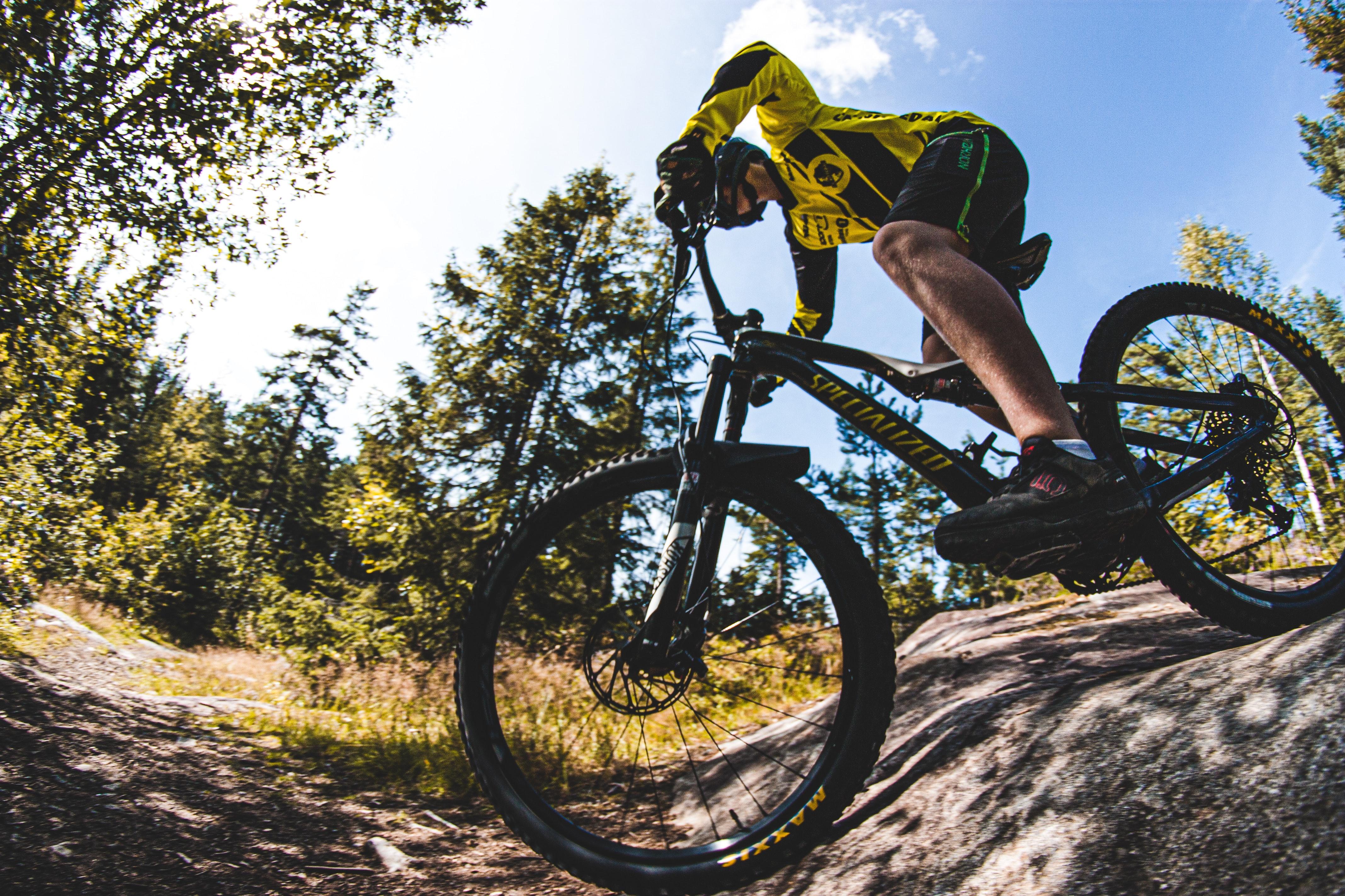 Tobias Bjerknes dağ bisikleti macerita