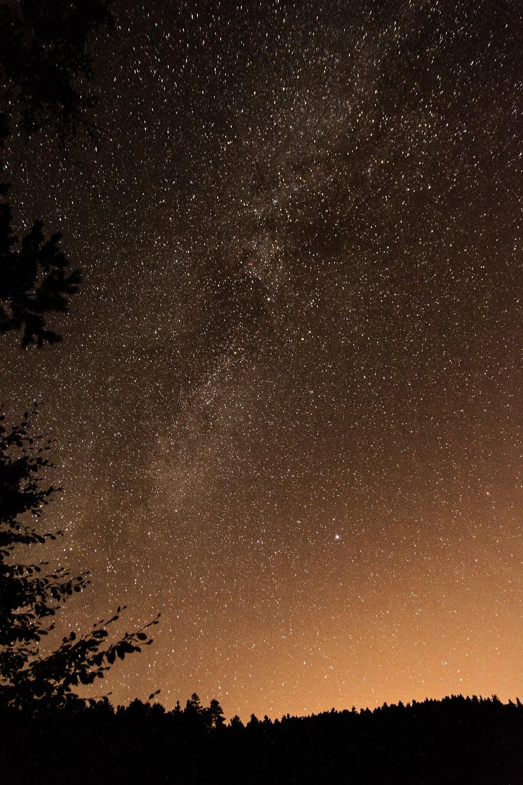 gece, yıldızlar, gece çekimi, galaksi, doğa