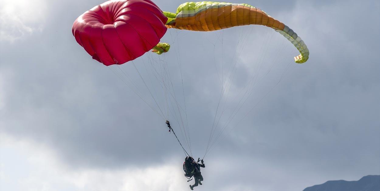 yamaç paraşütü yedek paraşüt