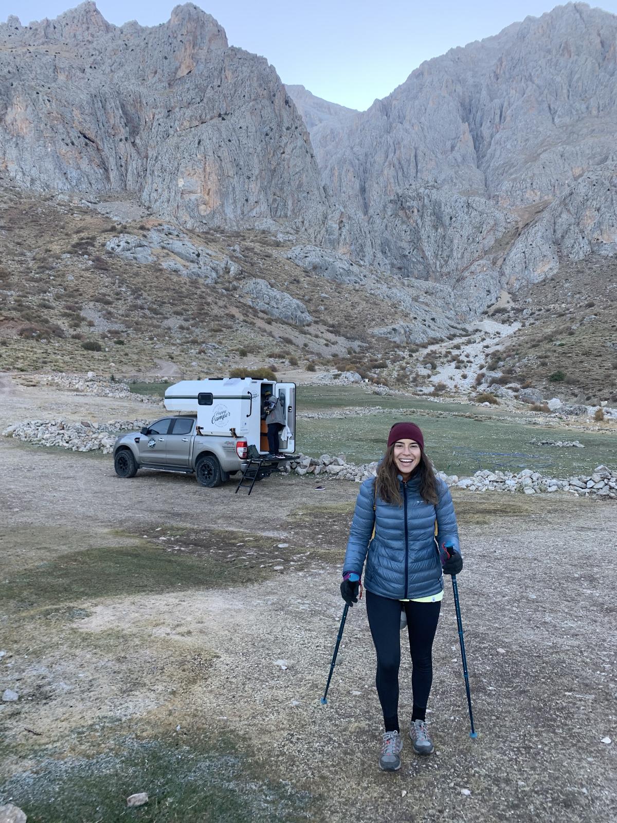 Macerita karavan kiralama Happy Camper Aladağlar Emler