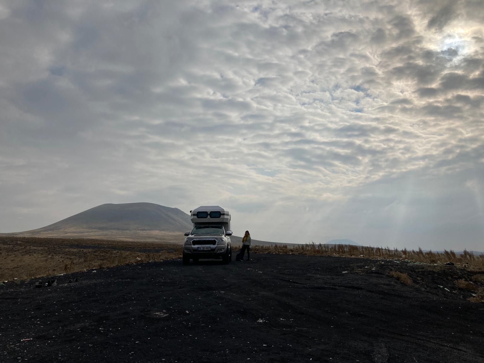 Macerita karavan kiralama Happy Camper Meke Krater Gölü
