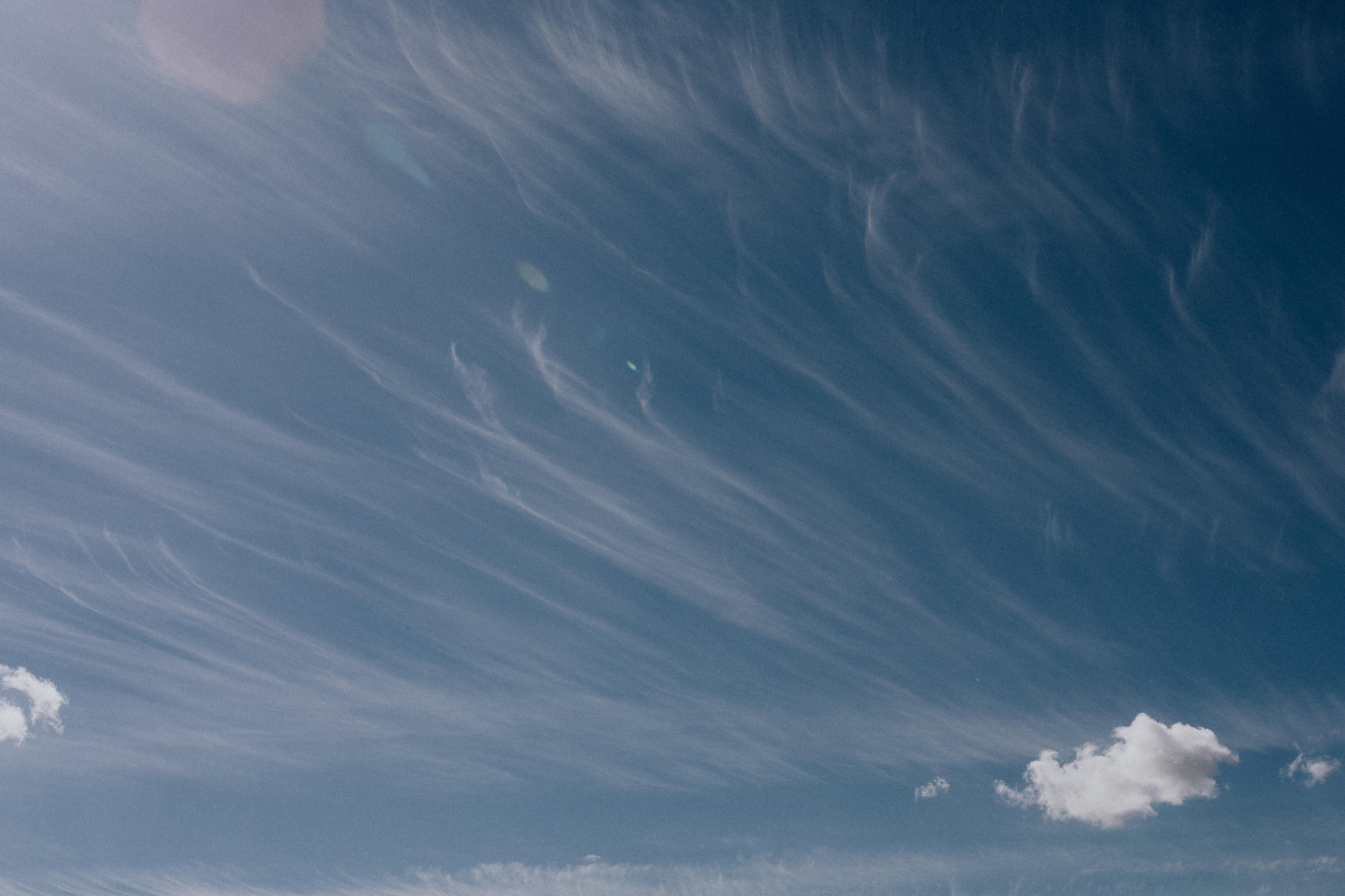 cirrus bulutları Karolina Grabowska, Pexels