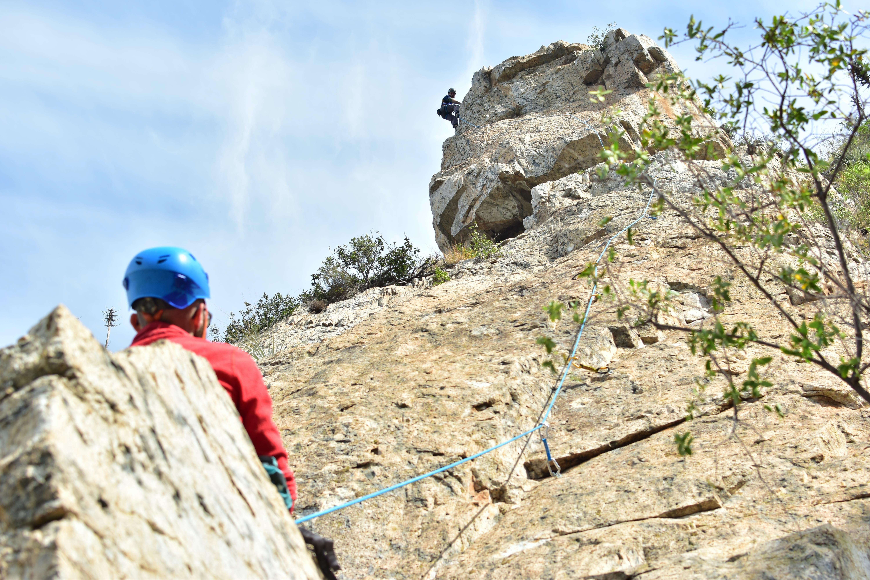 Marcelo Rivas Unsplash kaya tırmanışı