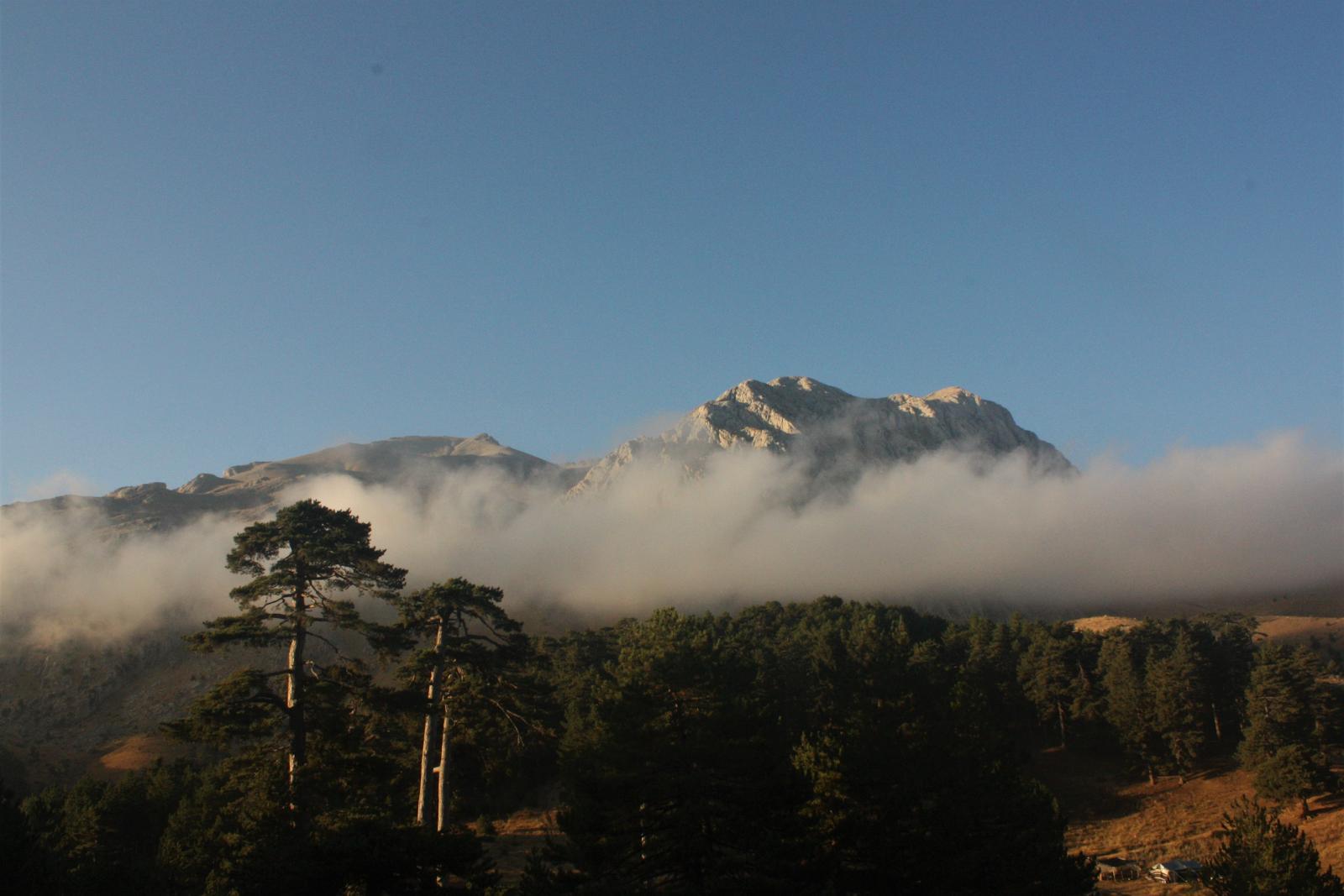 Macerita ekibi Dedegöl dağı