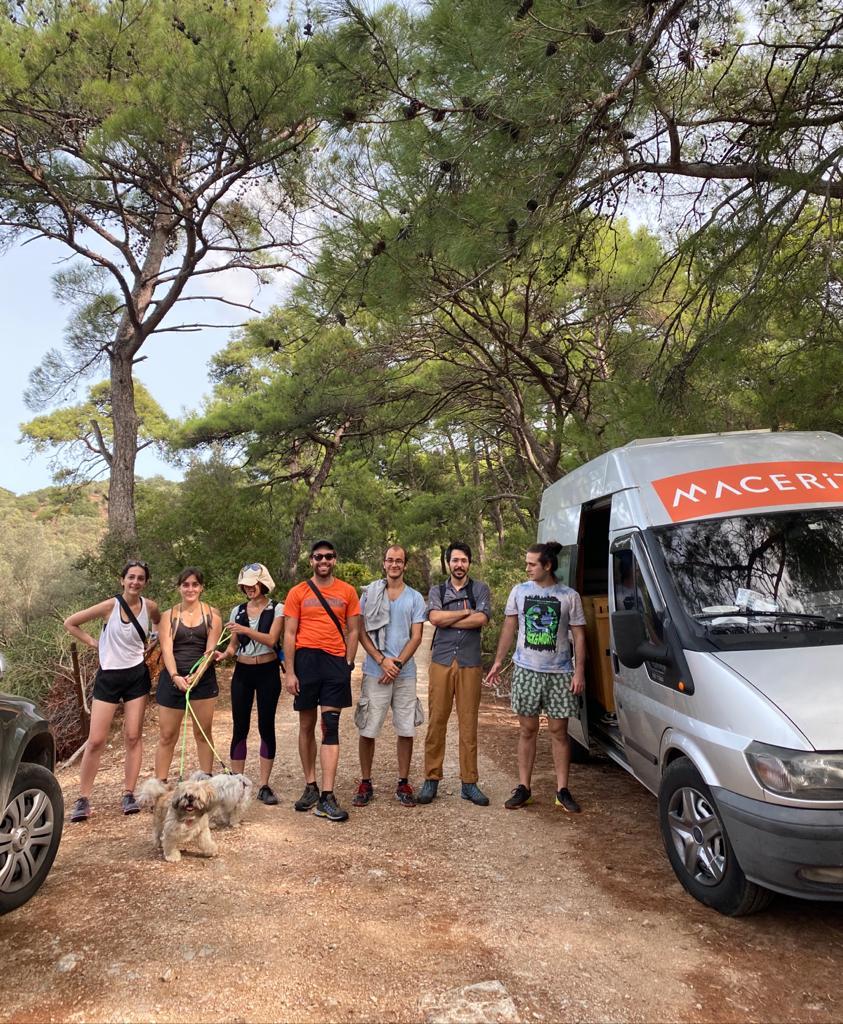 Macerita ekibi Leleg yolu bodrum
