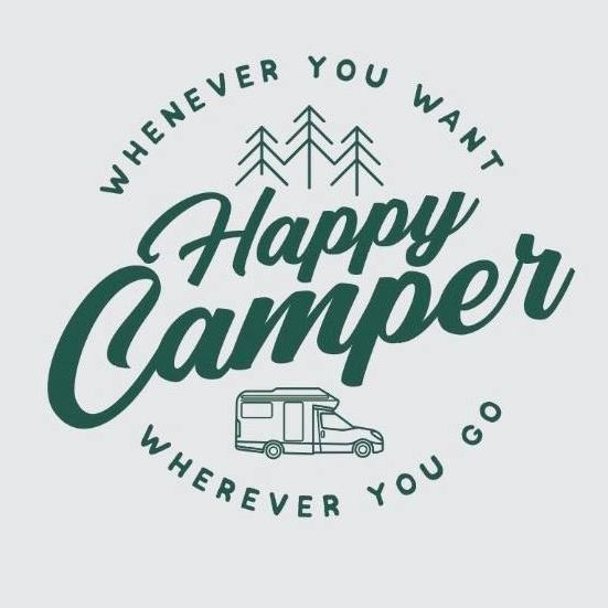 happy camper logosu