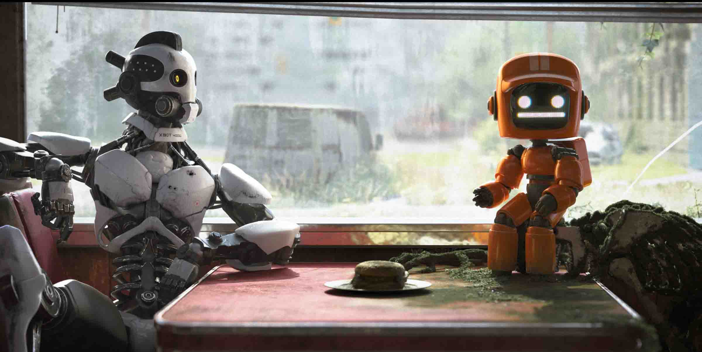Love, Death, Robots... and Virtual Humans