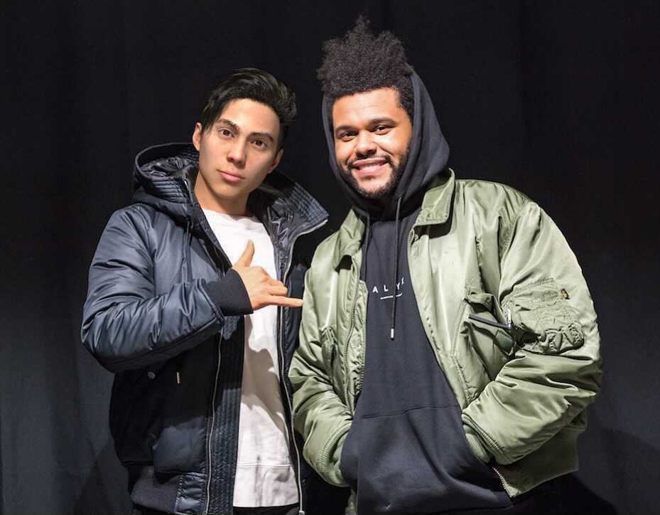 liam-nikuro-and-the-weeknd