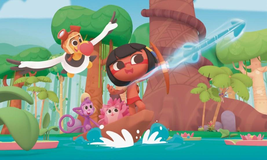 Tainá e os Guardiões da Amazônia