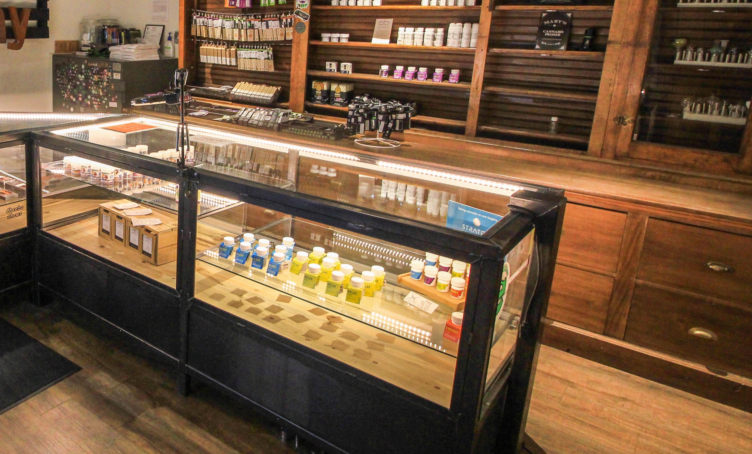 cannabis dispensary construction