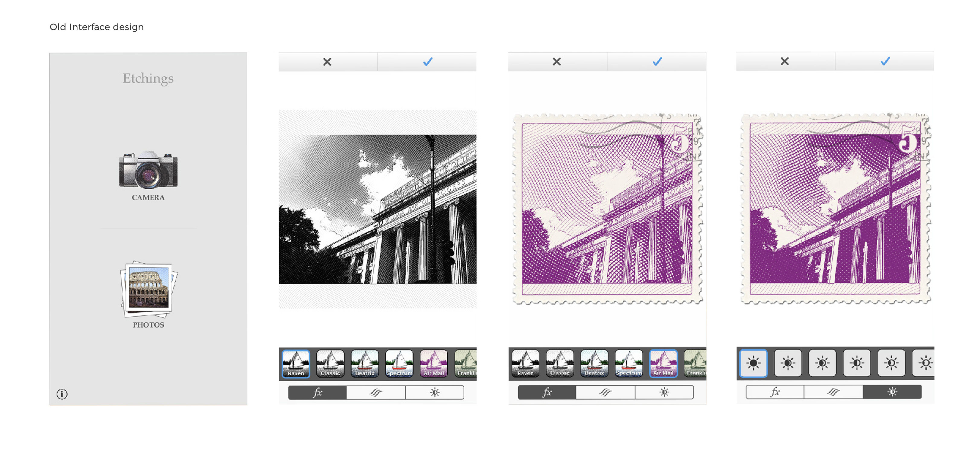 Etchings App Redesign