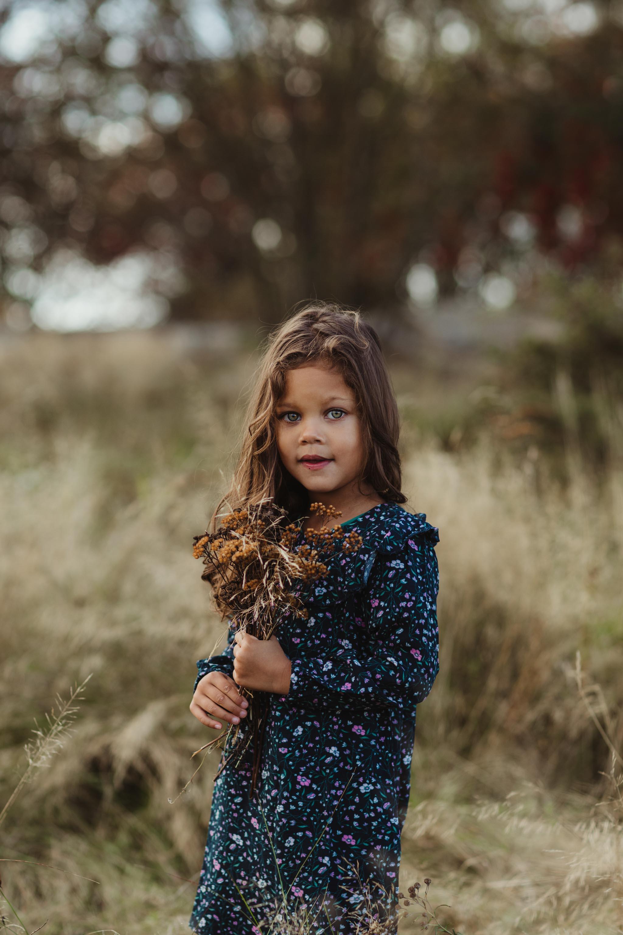 Barnefotografering - Natur, natur, lys - Fotograf Ida Hvattum