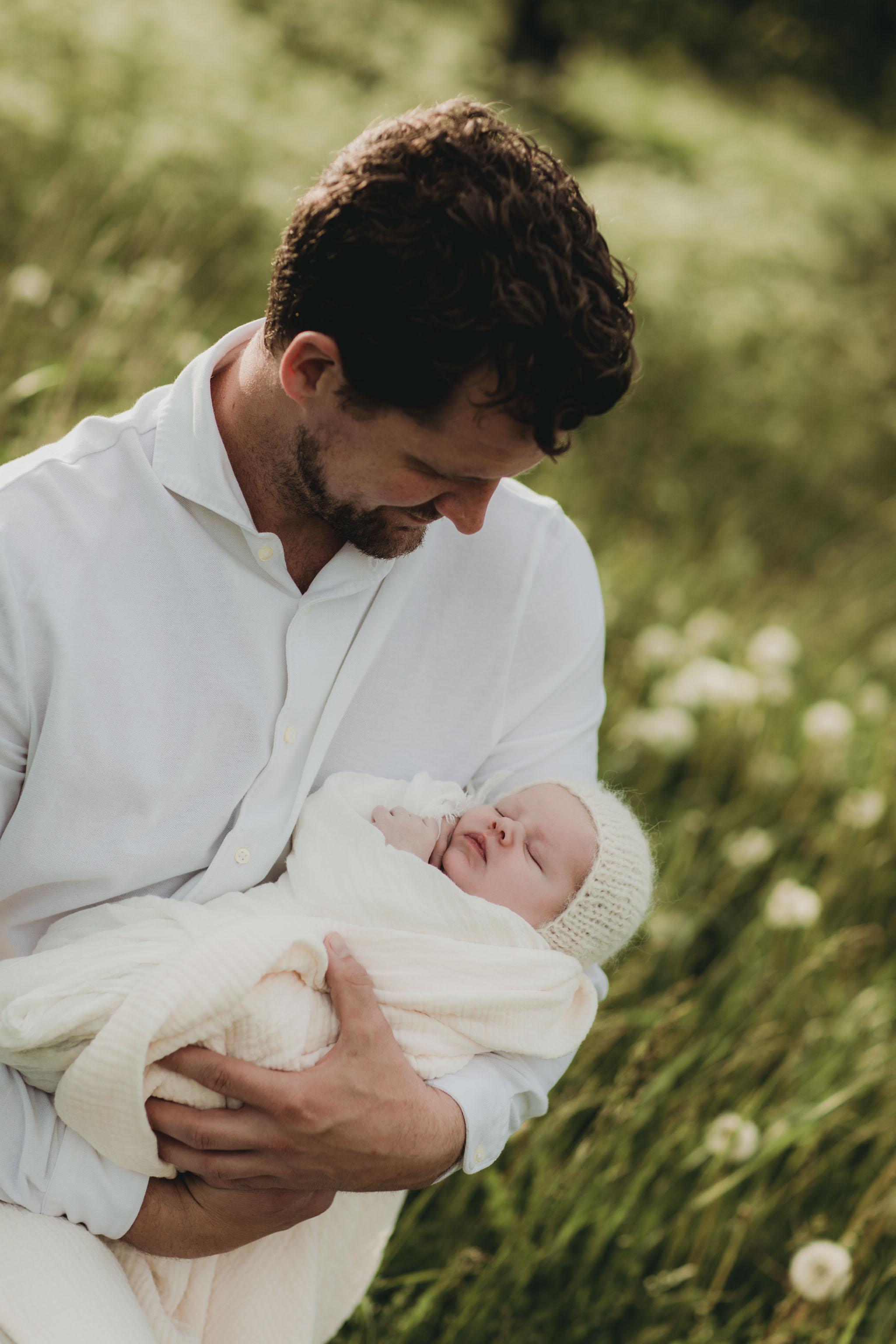Nyfødtfotografering - Familie - Fotograf Ida Hvattum