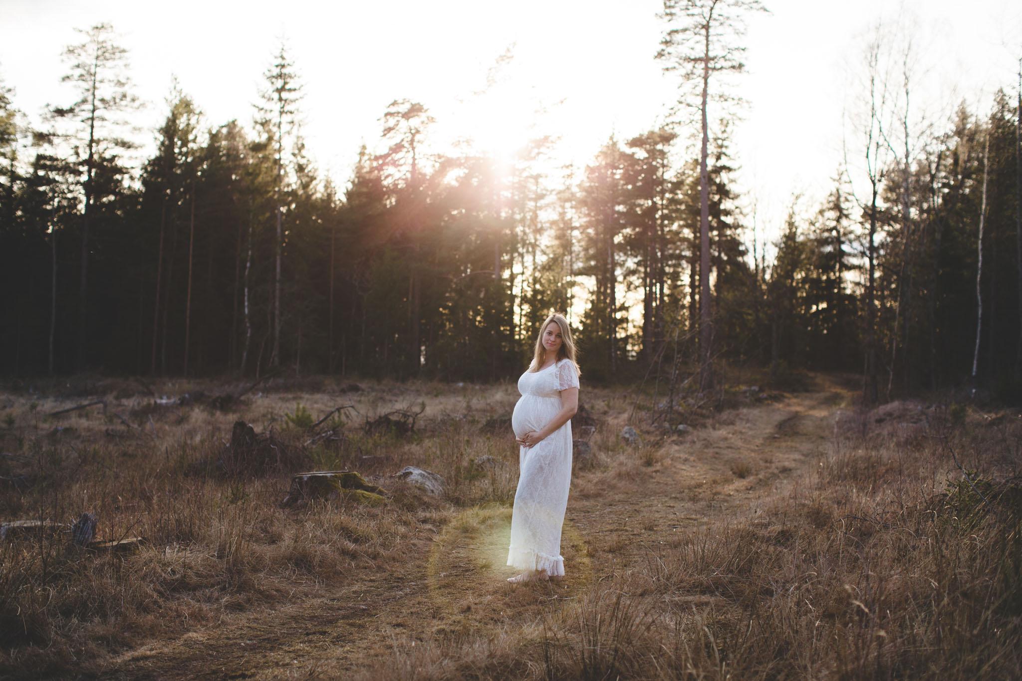 Gravidfoto - Natur - Fotograf Ida Hvattum