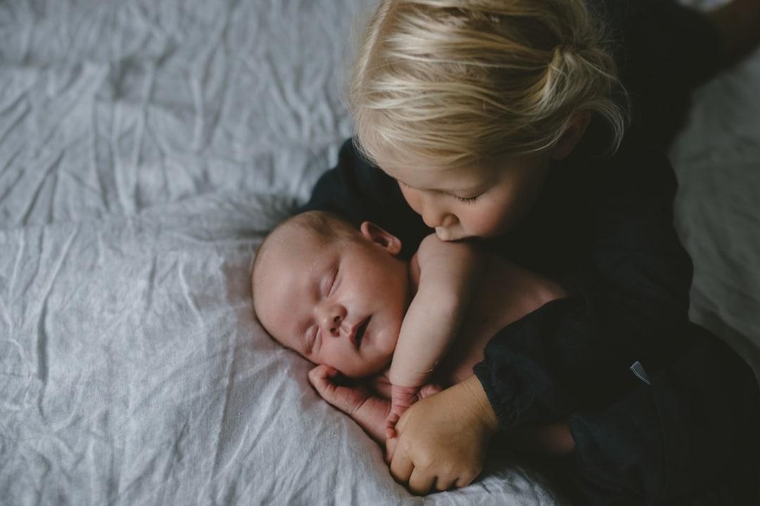 Nyfødtfotografering - Sovende - Fotograf Ida Hvattum