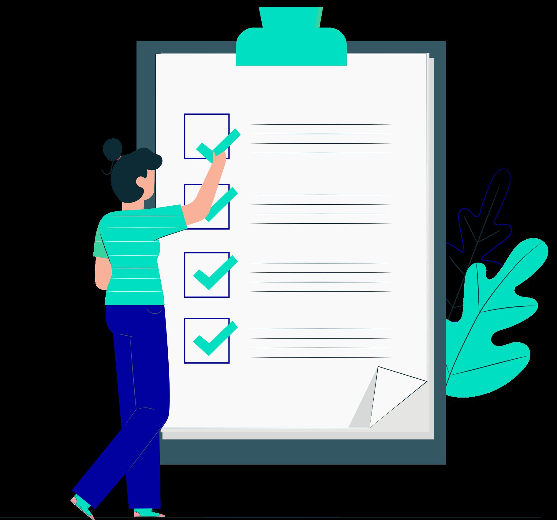 Checklist guide