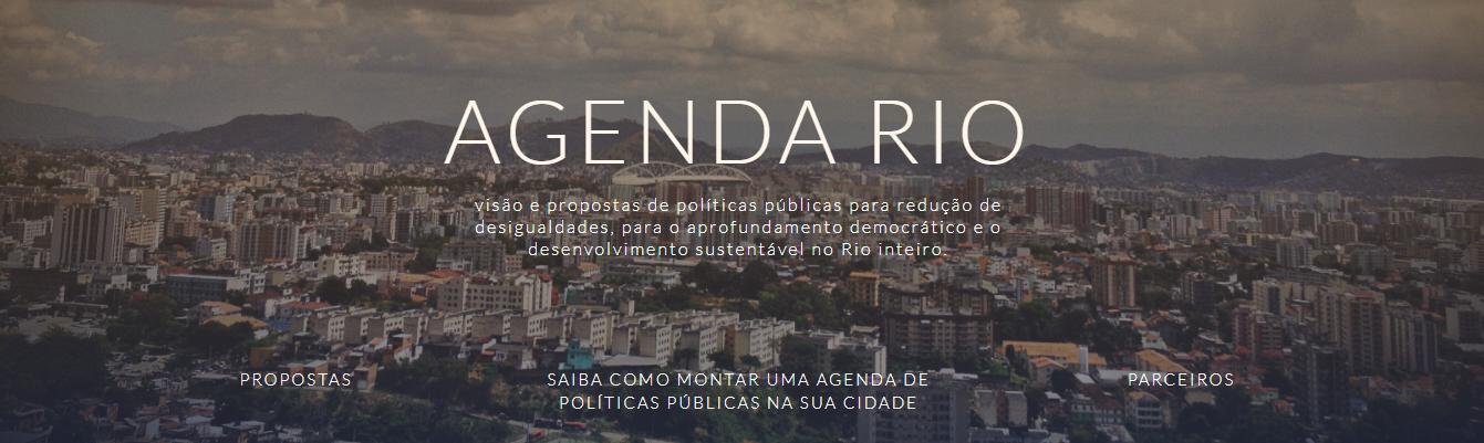 Banner da agenda rio