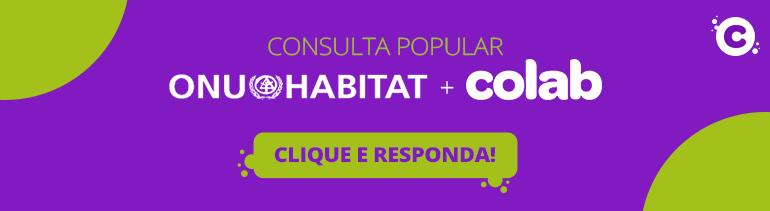 Banner de Clique e Responda da pesquisa