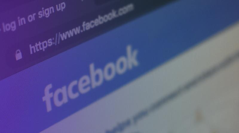 Página inicial do Facebook