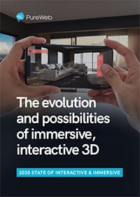 2020 state of interactive & immersive 3D trends report