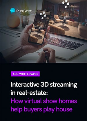 Interactive 3D streaming in real-estate