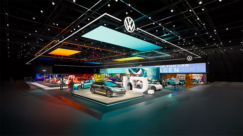 Volkswagen showroom now available virtually despite auto show cancelations
