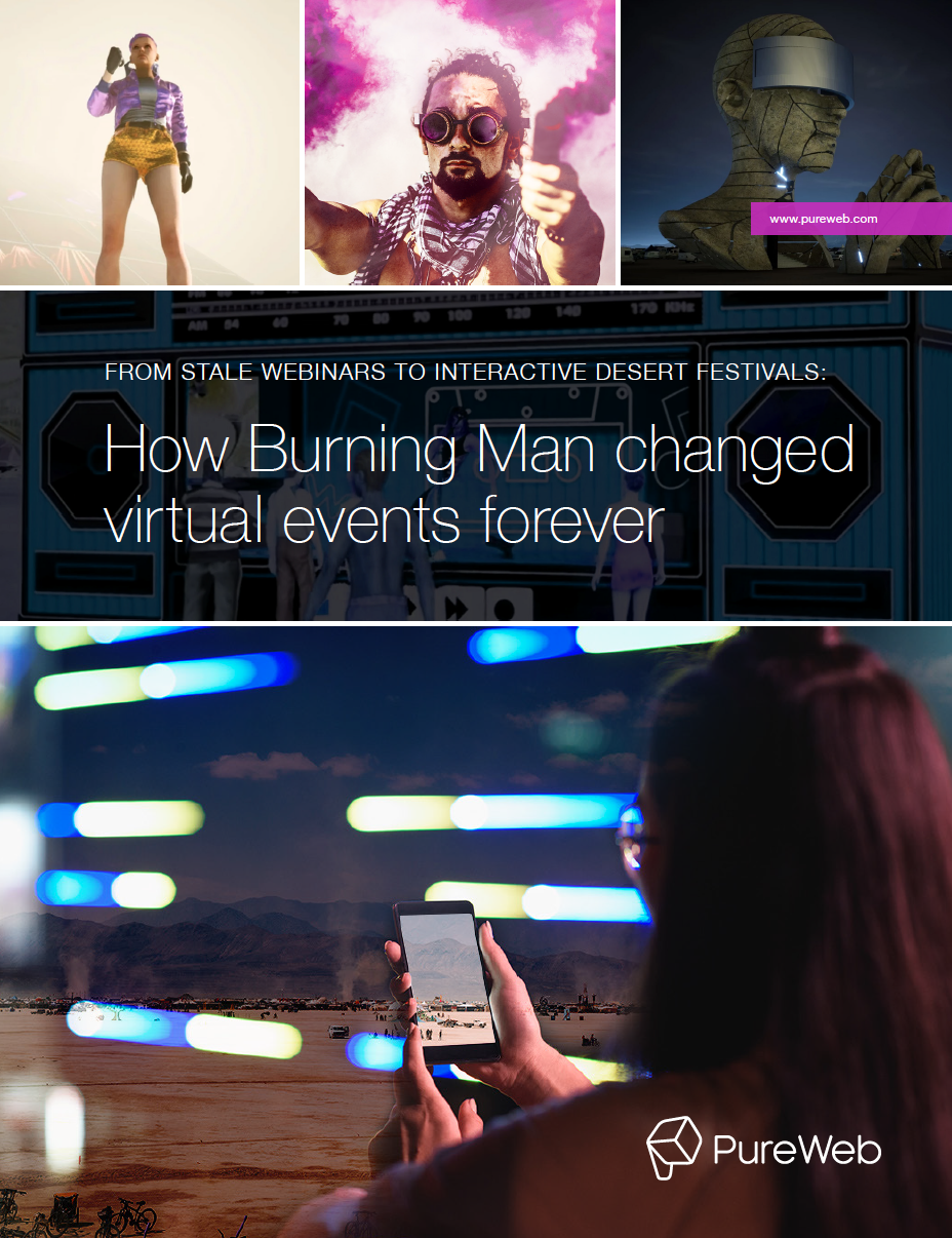 How Burning Man Changed Virtual Events Forever