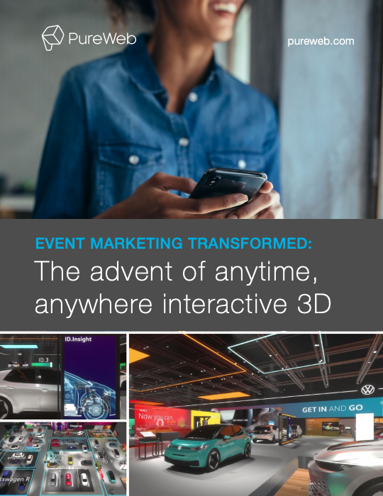 Virtual events: anytime, anywhere interactive 3D