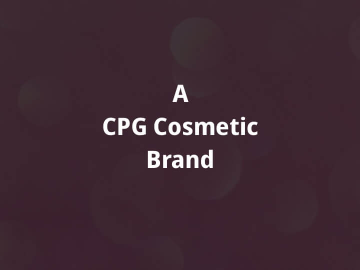 Cosmetic Brand Case Study Hero Image