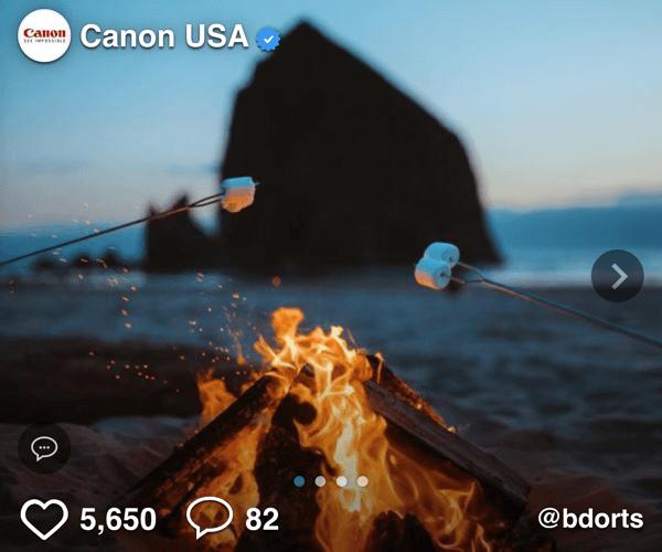 Canon Influencer 300x250 Social Display Ad - Spaceback