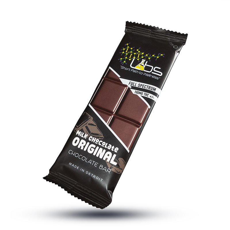 Lit Labs Milk Chocolate Cannabis Edibles