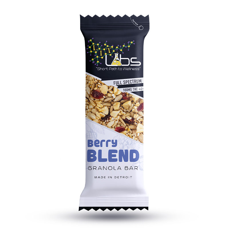 Lit Labs Berry Blend Granola Cannabis Edibles