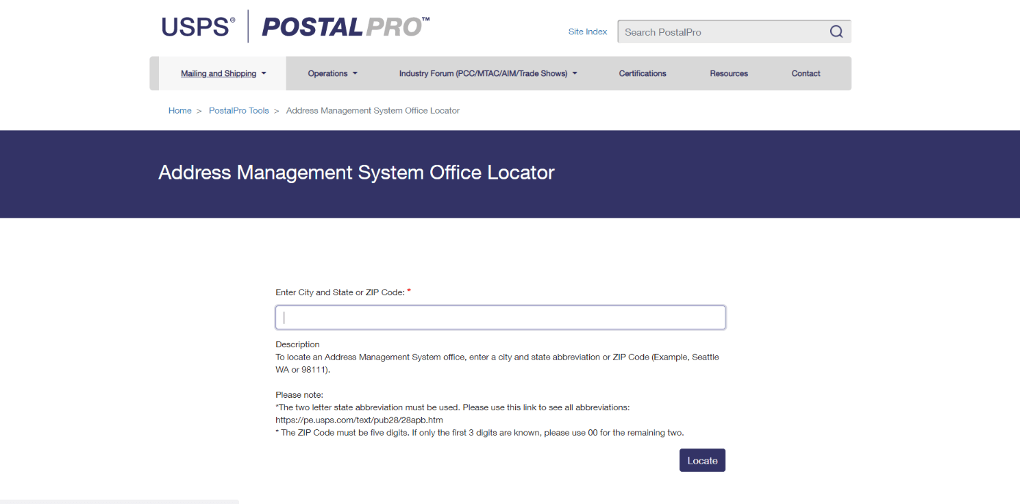 How to Add an Address to the USPS Database