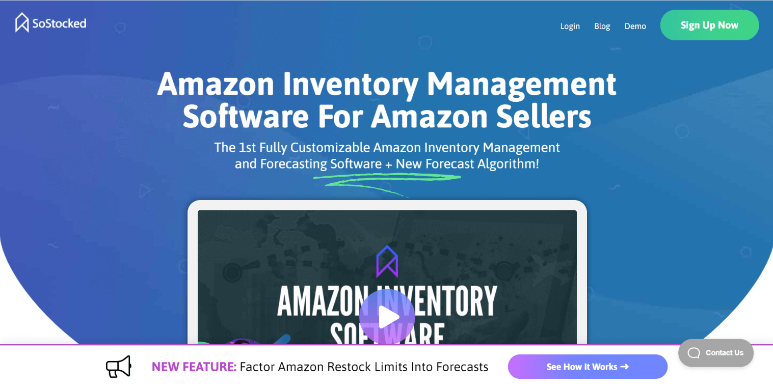 So Stocked: Inventory Management Tool