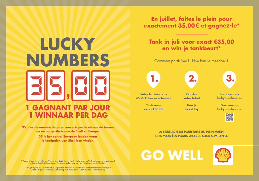 Lucky Numbers: 35,00