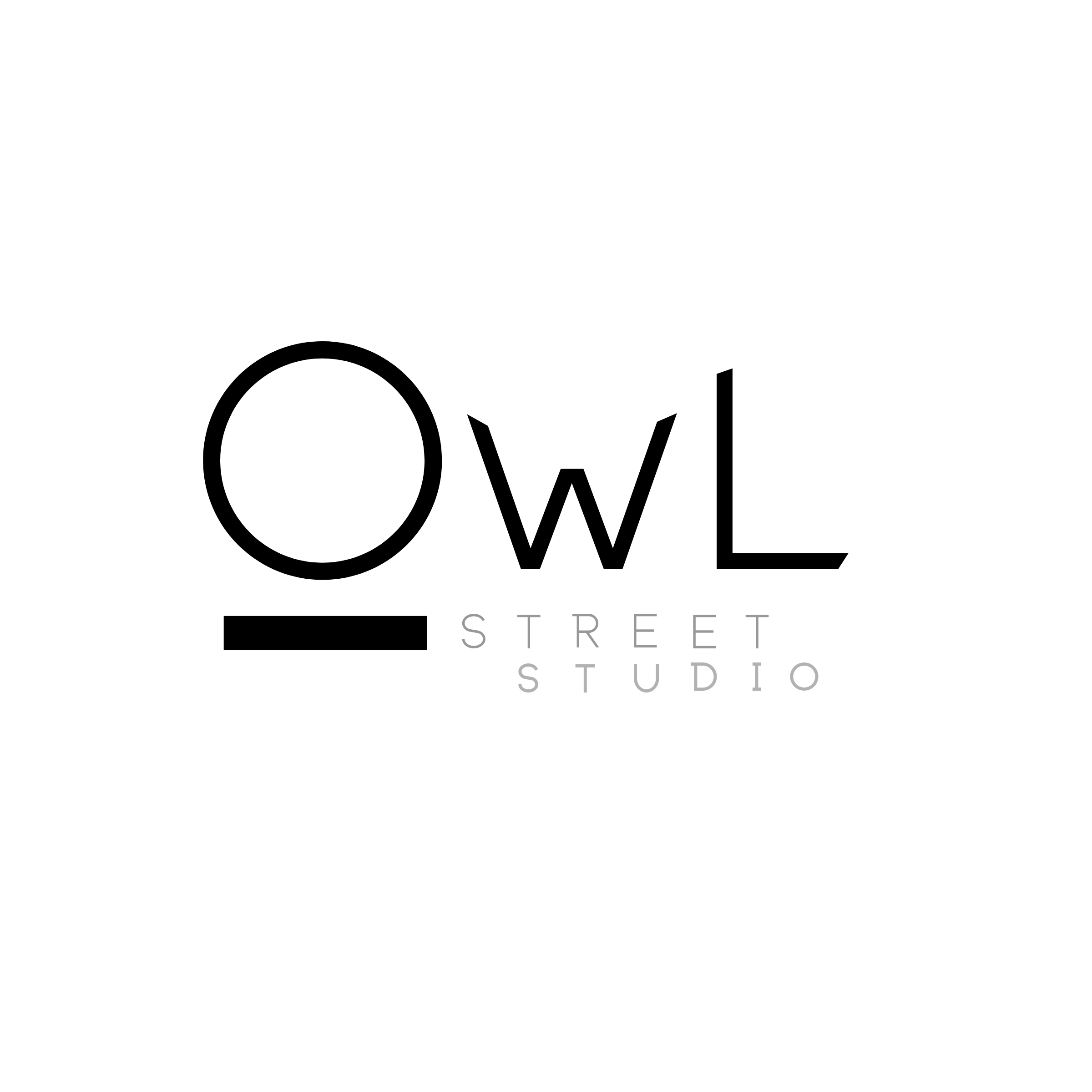 Owl Street Studio Wordmark and Logo, a marketing and graphic design agency