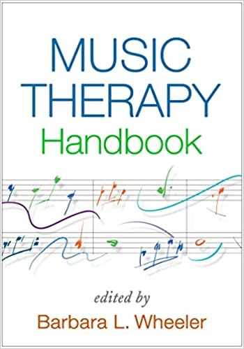 White book cover with colorful music notes.