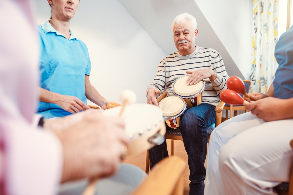 Music therapy in nursing home