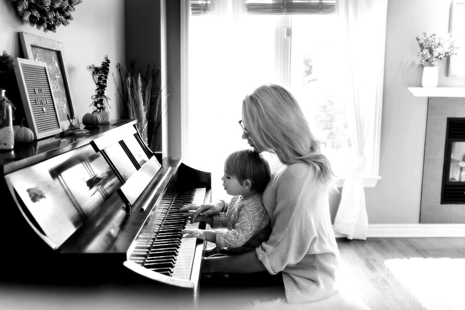 Mothers relationship with child improved through playing piano
