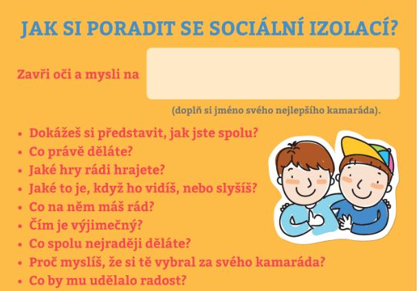Pomoc dětem při sociální izolaci