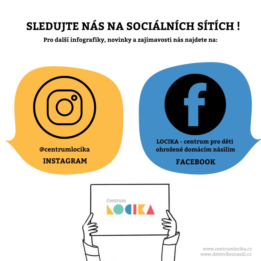 Sledujte nás na sociálních sítích