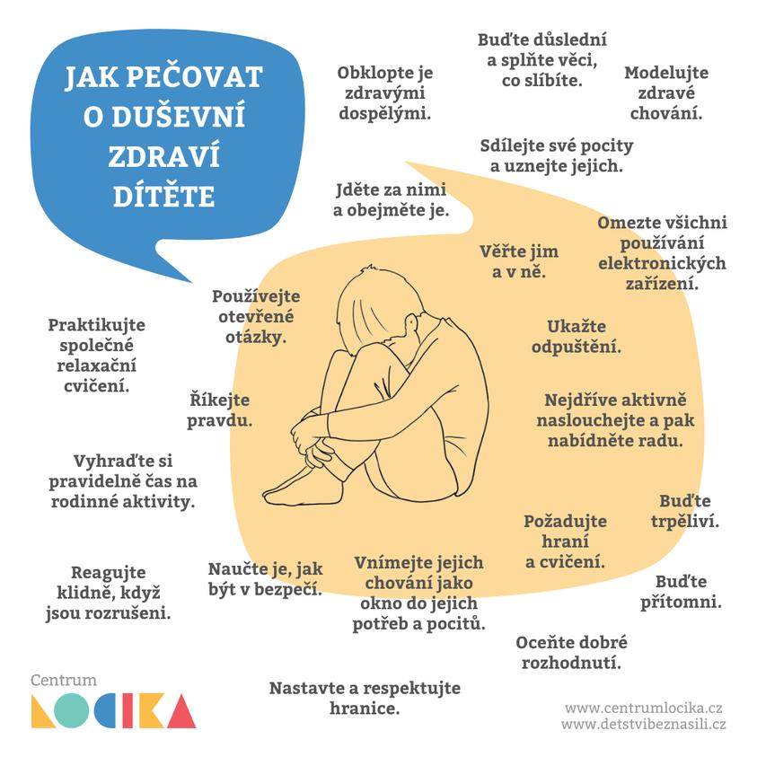 Jak pečovat o duševní zdraví dítěte?