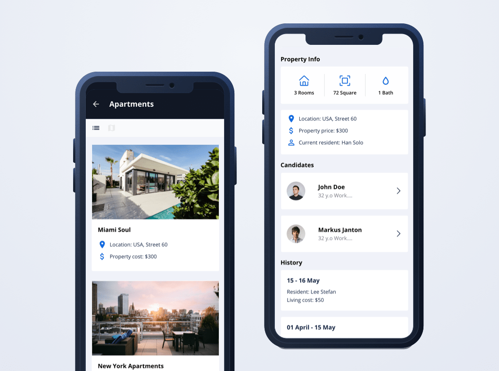 How we built a mobile PoC app for real estate with a low-code approach