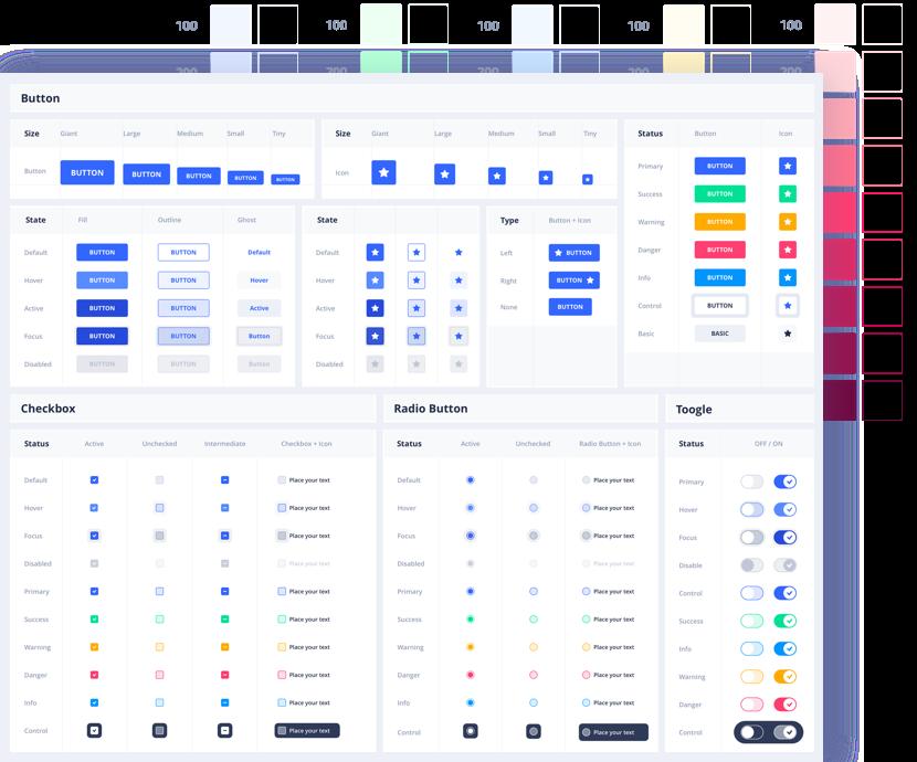 Eva Customizable Design System