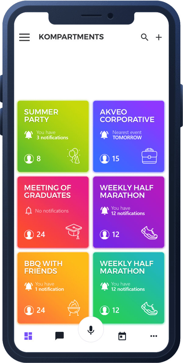 Colorful Mobile App