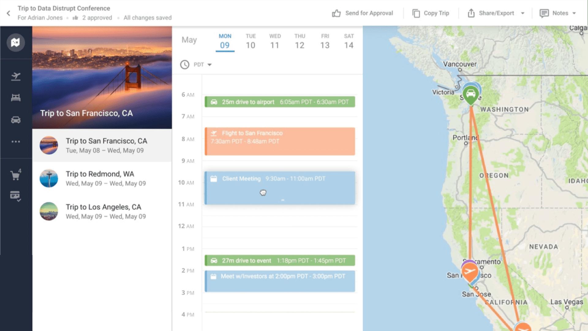Traveling web app development